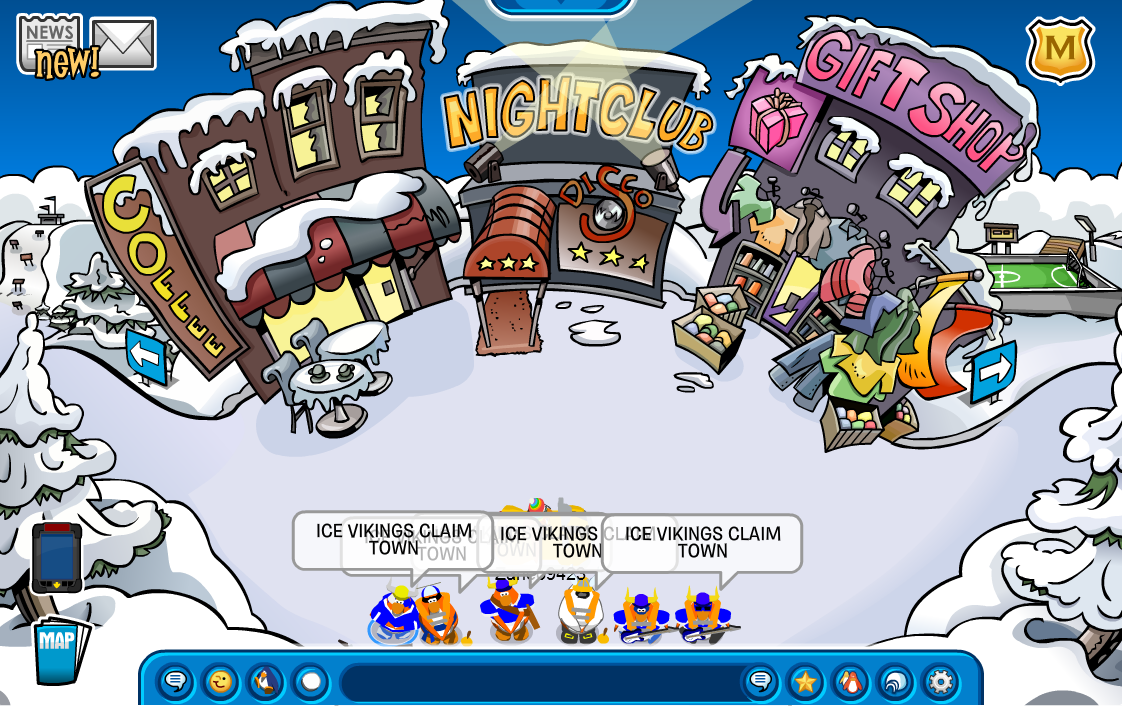 the ice vikings of club penguin an elite group of. Black Bedroom Furniture Sets. Home Design Ideas